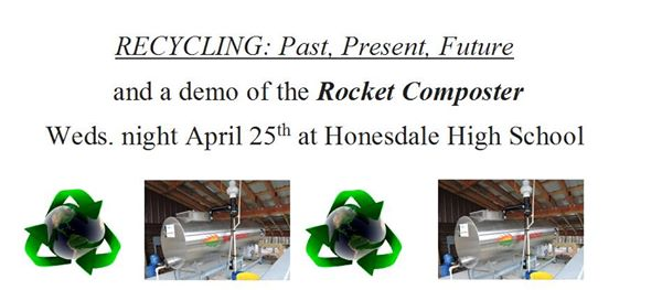 Recycling Forum and Rocket Composter Demo - Pike County Conservation