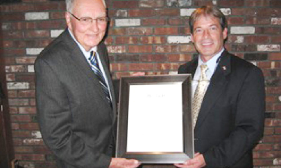 District Director Honored at Annual Dinner