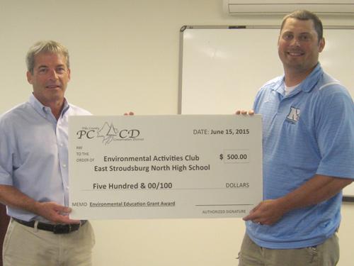 East Stroudsburg High School award