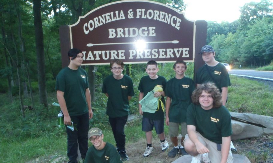 Stories from the Field – Scouts Assist with Tree and Plant ID at Nature Preserve
