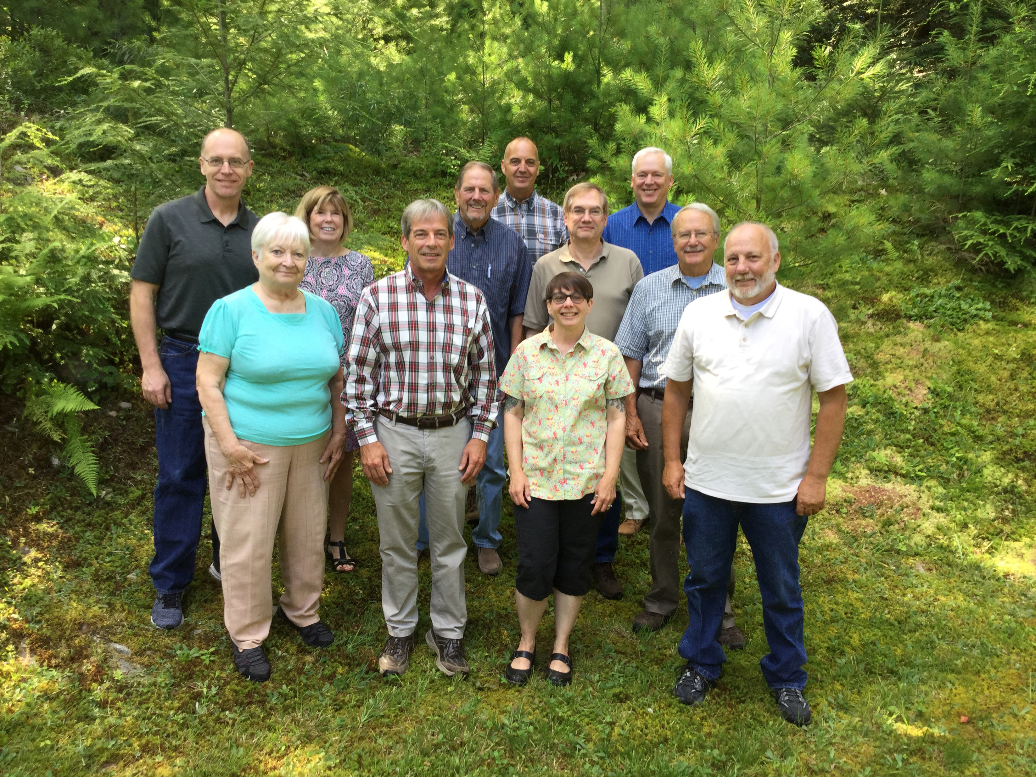 Photo of the Pike County Conservation District Board of Directors July 2019.