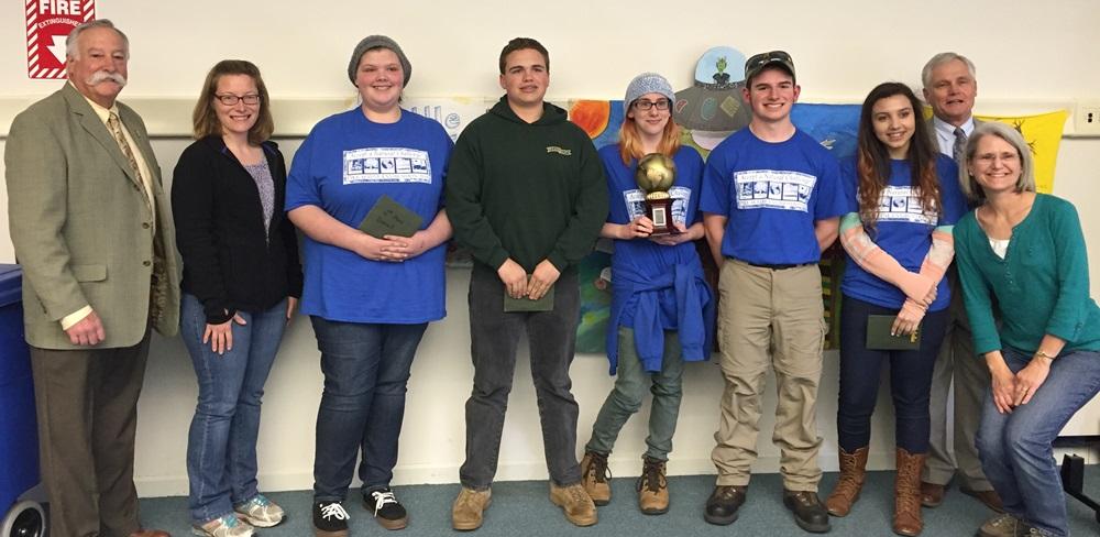Pike Envirothon winning team 2016