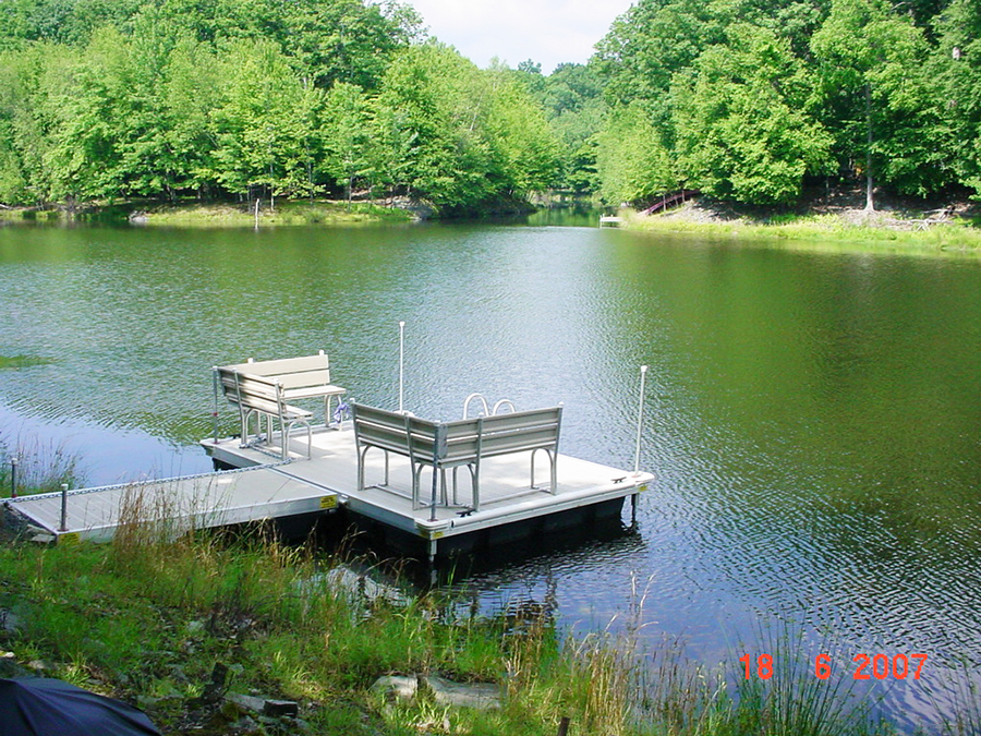 Photo of a small dock that required a General Permit 2.