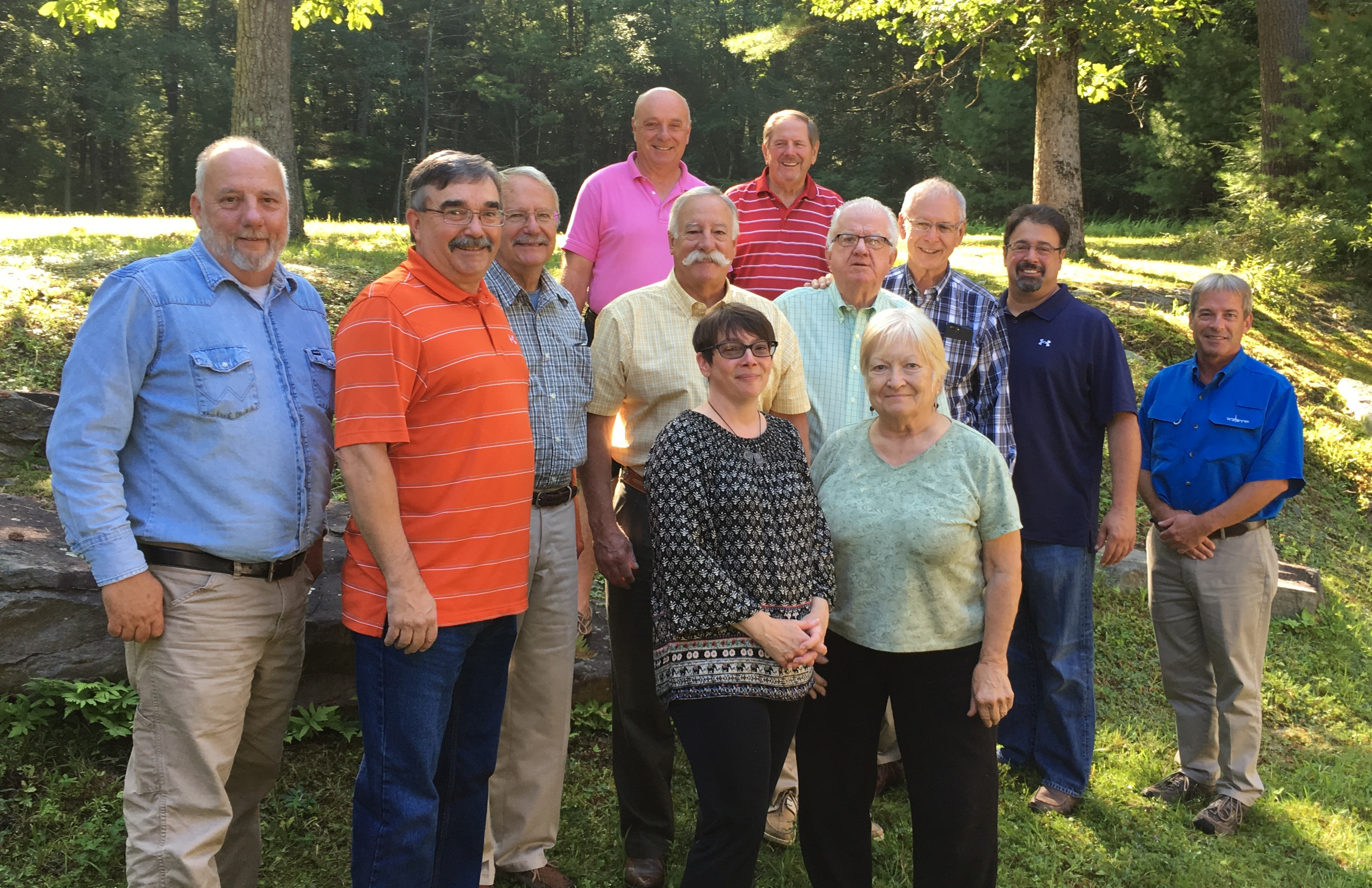 Photo of the Pike County Conservation District Board of Directors and Associate Members. Who we are.