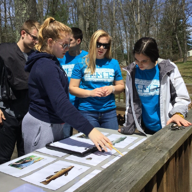 Students at the 2019 Pike Wayne Envirothon